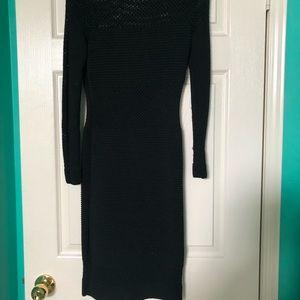 Long Sleeve Mesh Dress
